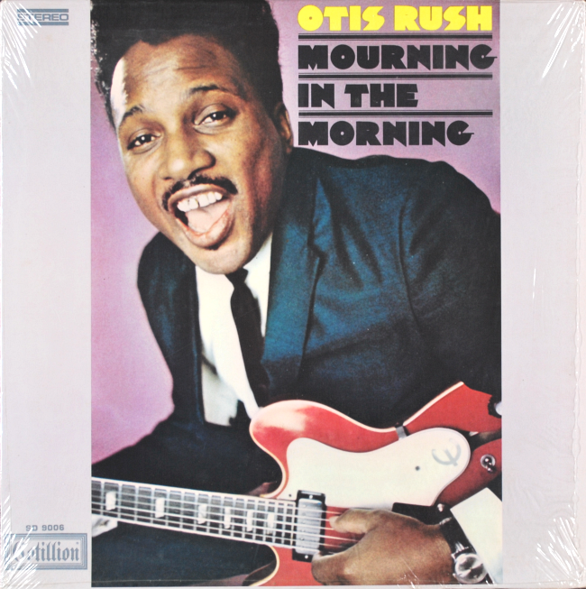 OTIS RUSH • MOURNING IN THE MORNING • 1969 LP COTILLION SD 9006 IN SHRINK NM