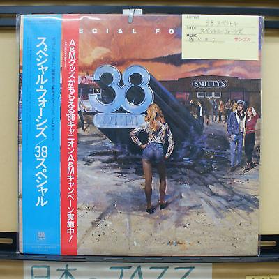 Vinyl LP Records C28Y3073 38 Special - Special Forces w/OBI