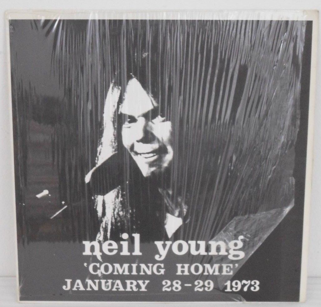 NEIL YOUNG Coming Home JANUARY 28-29 1973 Vinyl LP VG