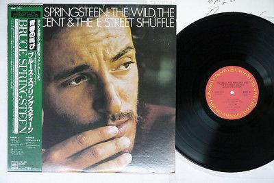 BRUCE SPRINGSTEEN WILD,INNOCENT&E STREER SHUFFLE CBS/SONY 25AP1273 Japan OBI LP