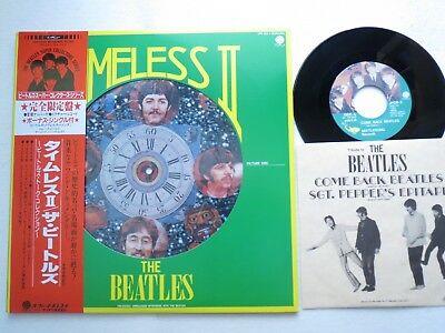 "Beatles - Timeless II  nummer PICTURE DISC  JAPAN LP + 7""  + Insert & obi"