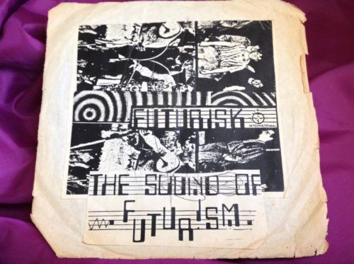 Rare FL Synth Punk 45 : Futurisk   Army Now   Clark Humphrey 008072