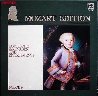AKTION : 10er-Box MOZART Sämtliche Serenaden und Divertimenti - NM-
