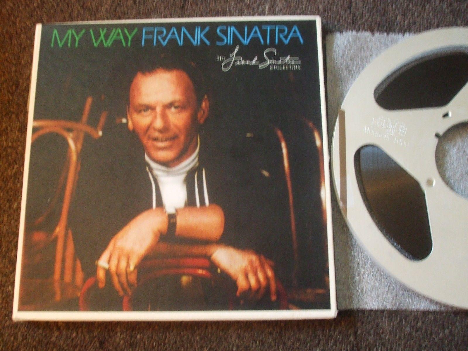 "FRANK SINATRA - MY WAY  - 2-TRACK  15 IPS 10.5"" REEL"