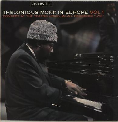 Thelonious Monk In Europe Vol. 1 vinyl LP album record UK RLP002 RIVERSIDE