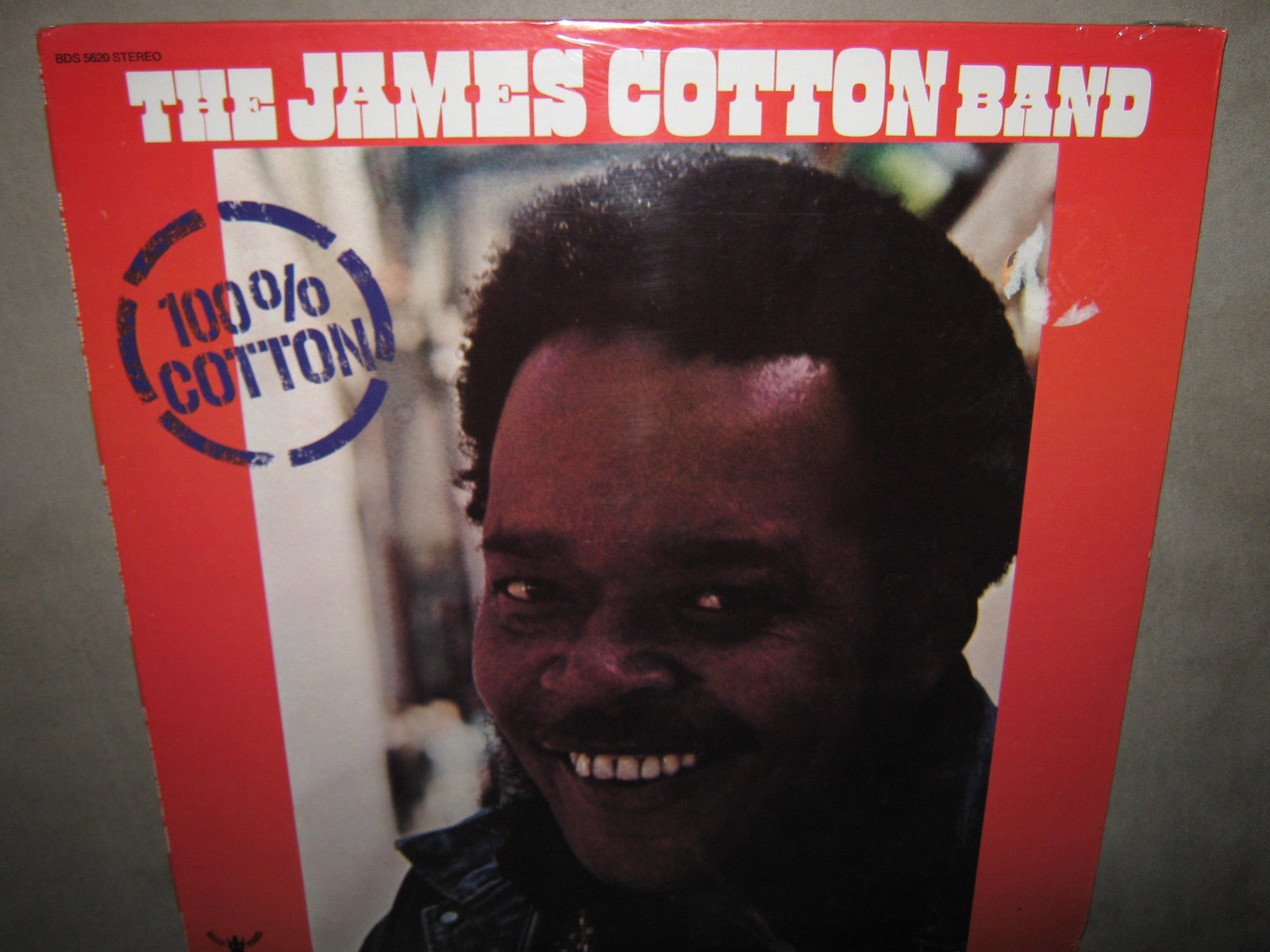 The JAMES COTTON Band 100% RARE SEALED New Vinyl LP 1974 Buddah BDS-5620 CutOut