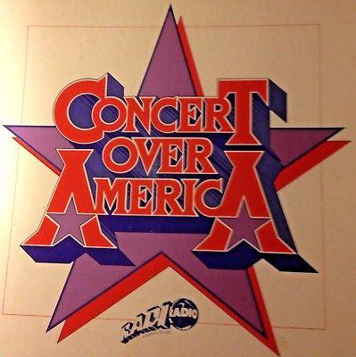 RADIO SHOW: CONCERT OVER AMERICA 9/83 6 HR CONCERT BEACH BOYS, CS&N, BILLY JOEL