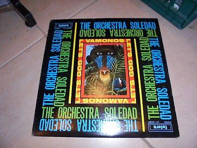 "RaRe-GUAGUANCO SALSA SOUL LP-THE ORCHESTRA SOLEDAD ""VAMONOS"" FUTURO 0289 -1970"