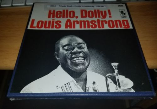 Louis Armstrong Hello, Dolly Reel to Reel Tape 7.5 ips Sealed Ultra rare