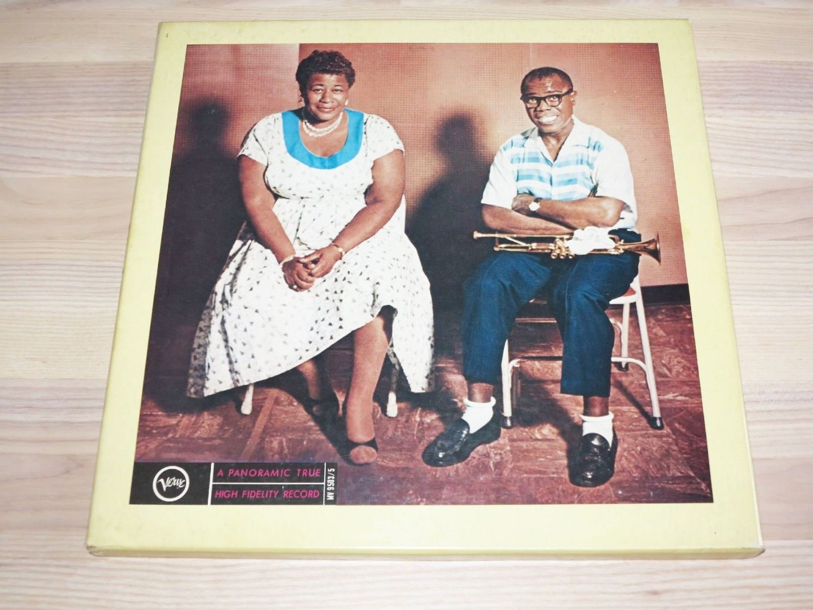 Ella Fitzgerald and Louis Armstrong 3 LP Japan Box - Same / mv9503 Press IN MINT