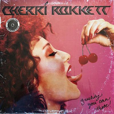 SEALED 1st Press Cherri Rokkett RED VINYL Quality You Can Taste Limited Edition