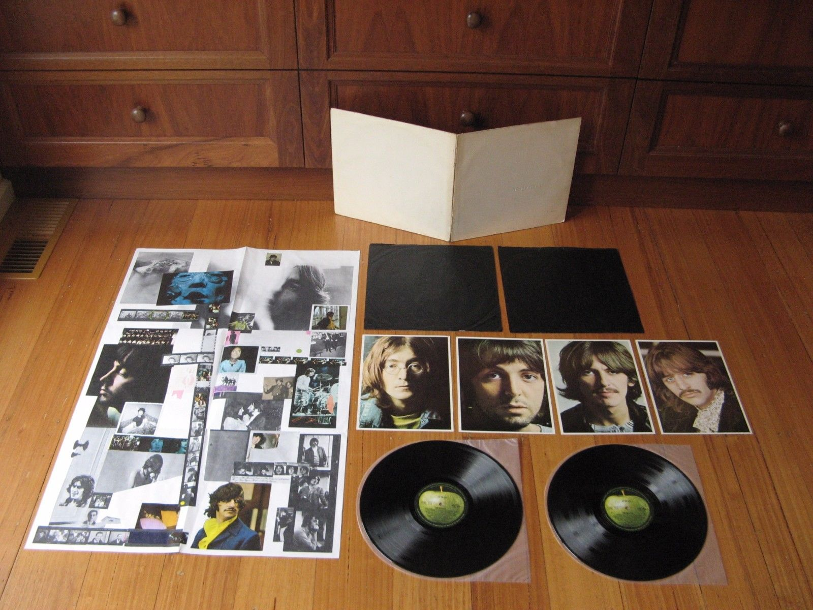 BEATLES White Album -LOW NUMBER A 01351 -Orig 1968 Oz 2LP -COMPLETE ALL CONTENTS