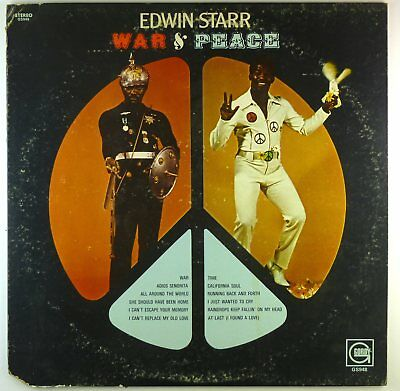"12"" LP - Edwin Starr - War And Peace - F1071 - cleaned"