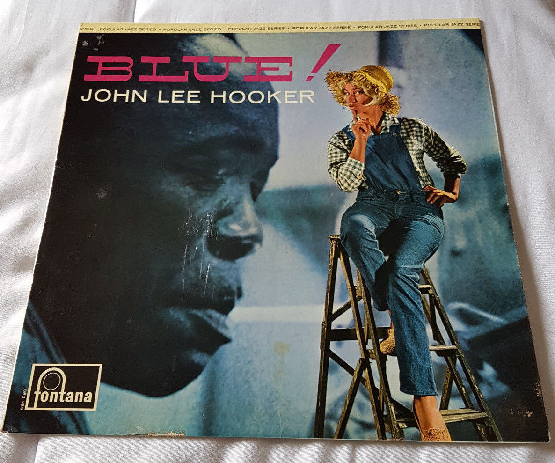 John Lee Hooker Blue  1st UK LP Slate Fontana *STUNNING Nr MINT* VERY RARE 1965