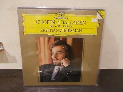CHOPIN 4 Balladen, Barcarolle, Fantasie  ZIMERMAN LP M-/EX DGG