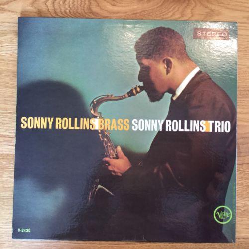 Sonny Rollins Trio Brass, Verve Stereo V6-8430 A VGS 542 US MGM