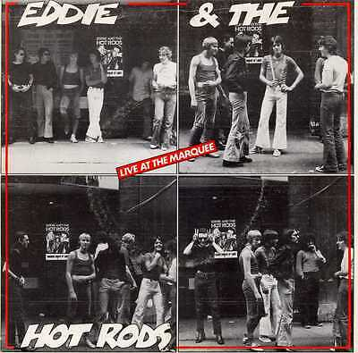 """EDDIE & THE HOT RODS """"LIVE AT THE MARQUEE"""" ORIG EP UK 1976"""