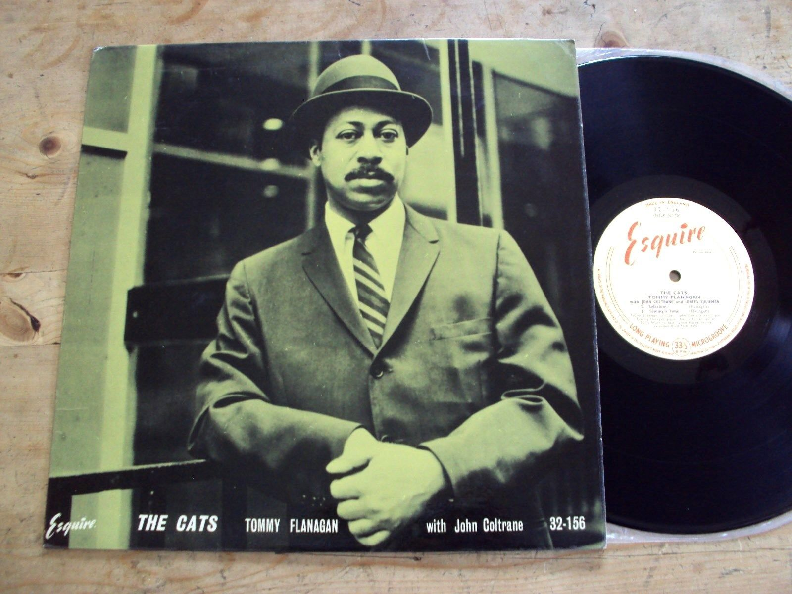 TOMMY FLANAGAN - THE CATS LP UK 1st Esquire 32-156 Jazz John Coltrane LOVELY