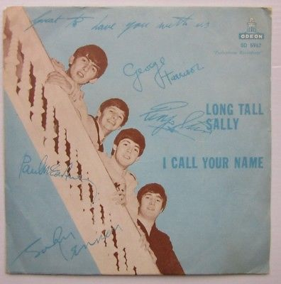 "BEATLES ''  Sweden--''Long TAll Sally''   7"" single"