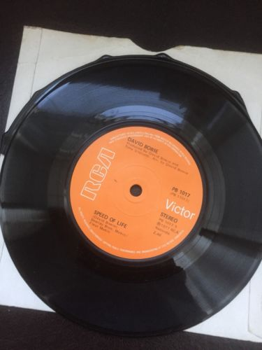 "Be My Wife / Speed Of Like 7"" David Bowie Error Cut"