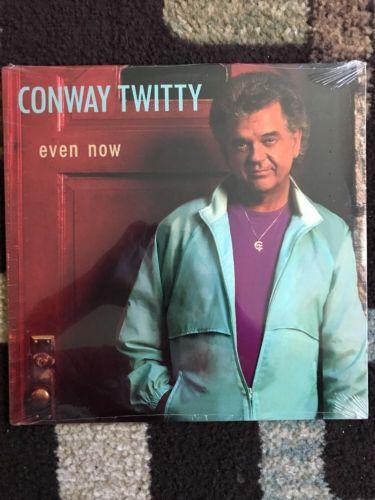 Conway Twitty Even Now LP Vinyl Record Sealed 1991 U.S.  On Vinyl