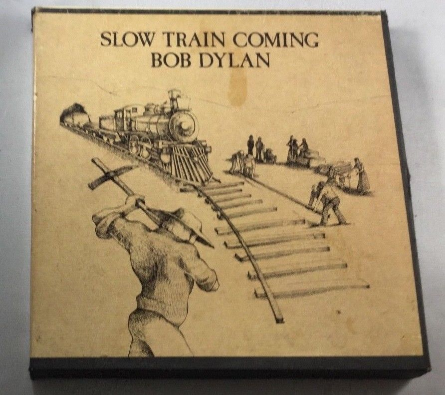 Bob Dylan Slow Train Coming Reel Tape Tested Guaranteed 3-3/4ips EX/VG+