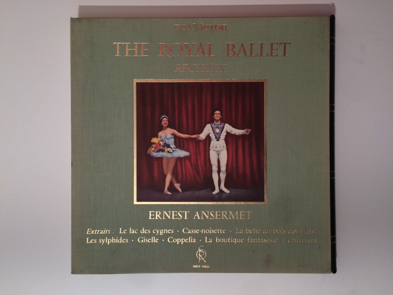 ERNEST ANSERMET The Royal ballet Recitals FRENCH 2LP BOX RCA SOR 640759 STEREO