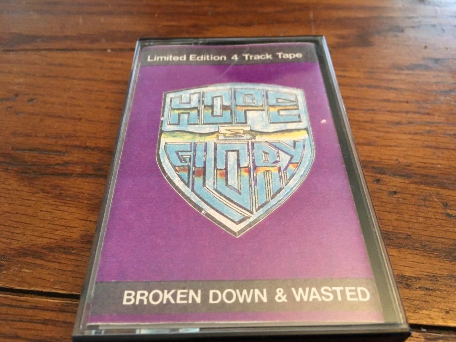 popsike com - HOPE & GLORY 1991 CASSETTE DEMO INDIE AOR HAIR METAL