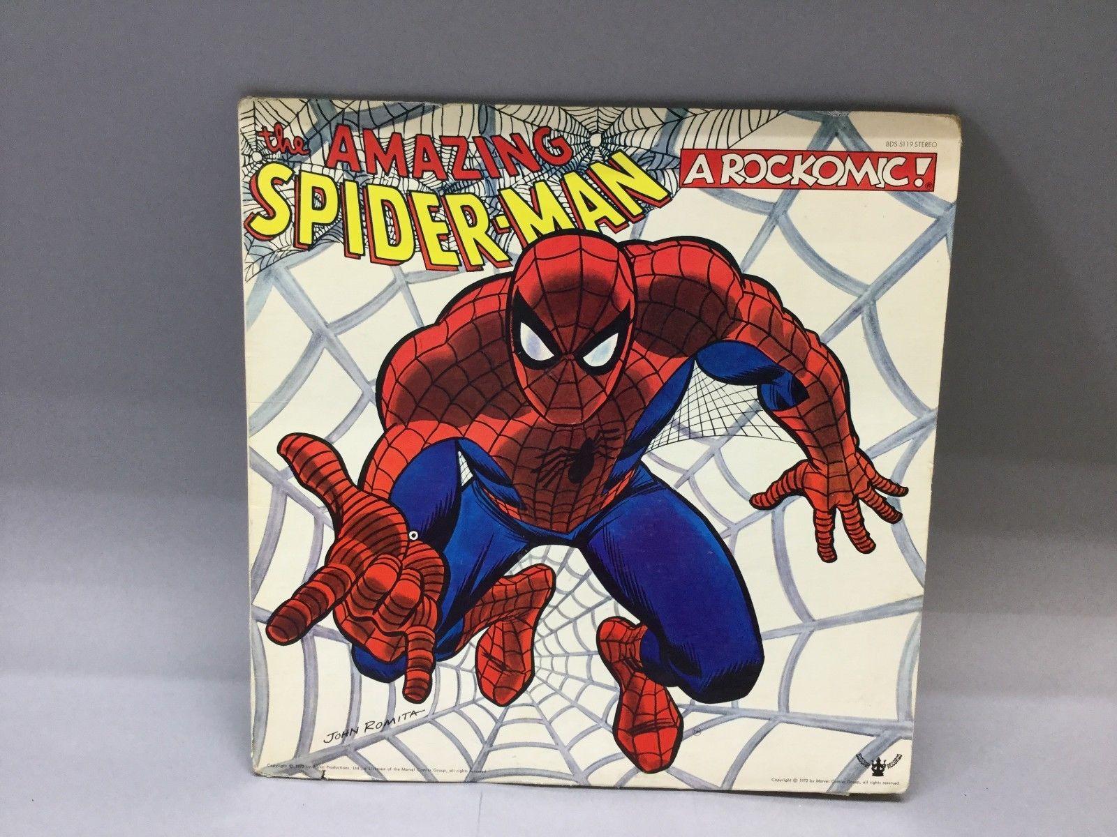 1972 Buddah Record - The Amazing Spiderman A Rockomic