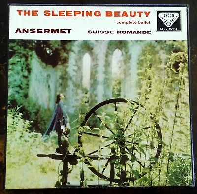Tchaikovsky: The Sleeping Beauty Ballet - Ansermet **Decca SXL 2160-2 WBg ED1**