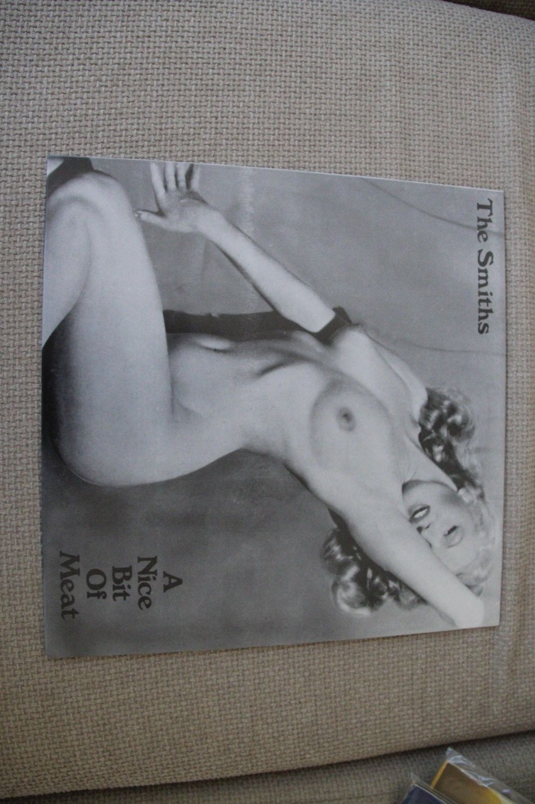 """The Smiths A Nice Bit Of Meat 12"""" Vinyl exc cond prev unavailable material"""