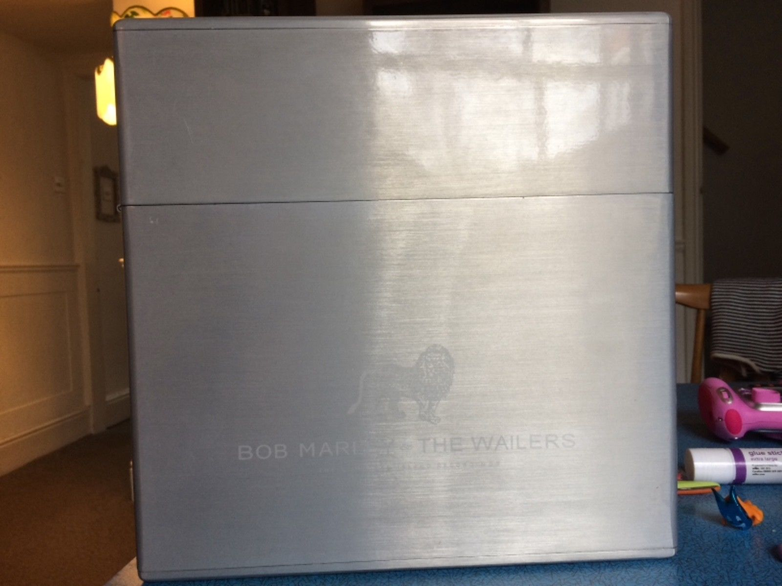 Bob Marley and the Wailers The Complete Island Recordings Zippo box set vinyl