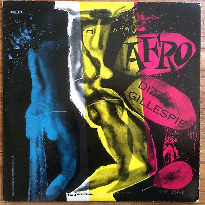 DIZZY GILLESPIE Afro Orig French LP BLUE STAR BIEM 196? NMint