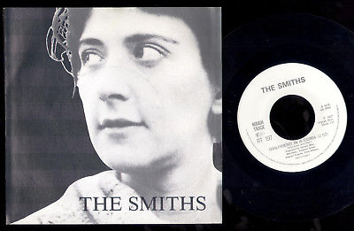 "THE SMITHS DUTCH / HOLLAND MEGADISC VINYL 7"" W/PC GIRLFRIEND IN A COMA"