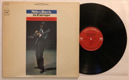 Miles Davis In Europe - 1964 US Stereo 1st Press CS 8983 (NM-) Ultrasonic Clean