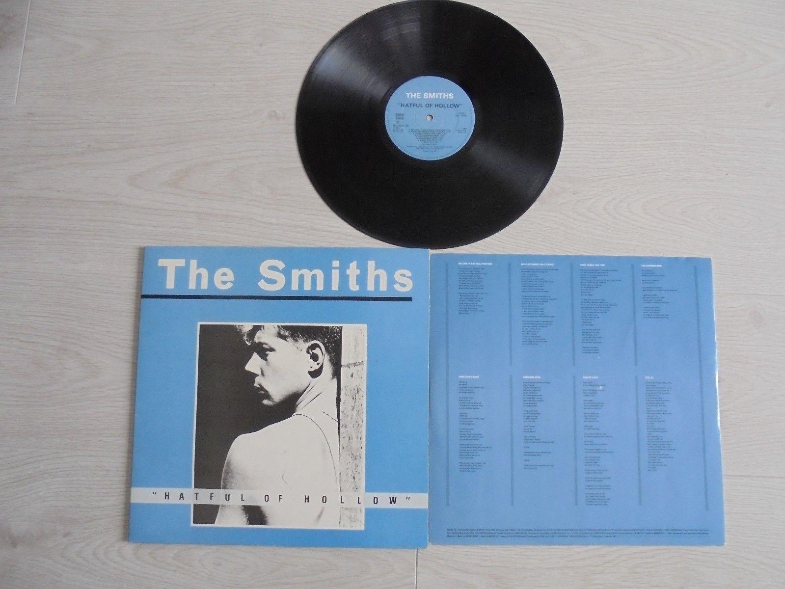 "The Smiths ""HATEFUL OF HOLLOW"" ORIGINAL 1984 Gatefold Vinyl LP Record EXCELLENT+"