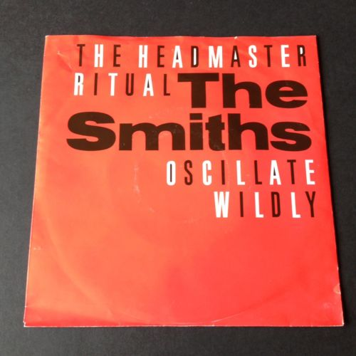 "THE SMITHS  7"" Record 45 The HEADMASTER RITUAL 1985 Holland Megadisc"