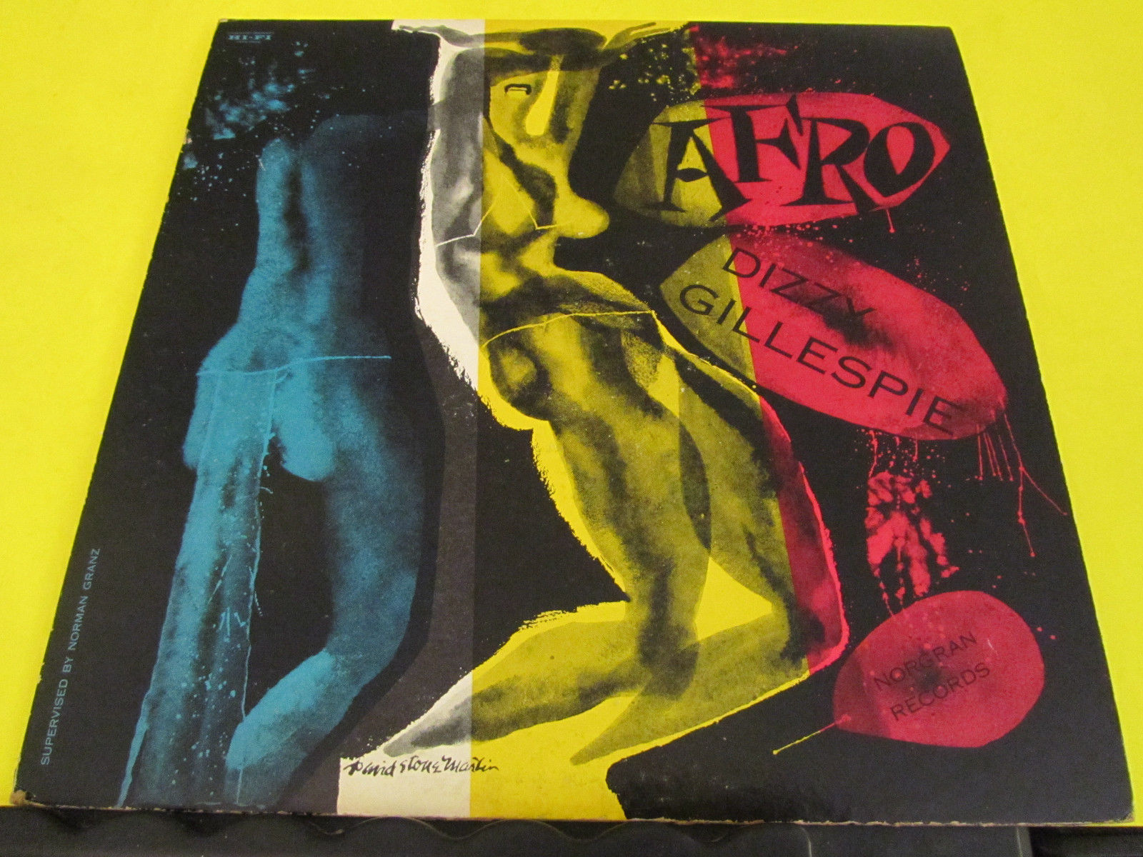 VHTF BEBOP LP Dizzy Gillespie Afro Norgran MG N-1003 DG VG+ / VG+ DSM Cover