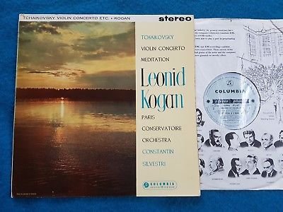popsike com - SAX 2323 KOGAN Tchaikovsky Violin Concerto B/S first