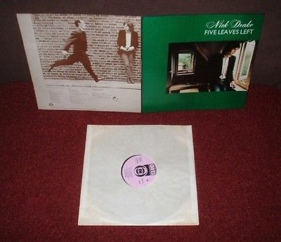 NICK DRAKE Five Leaves Left LP 1969 ISLAND 1st Press  SUPERB