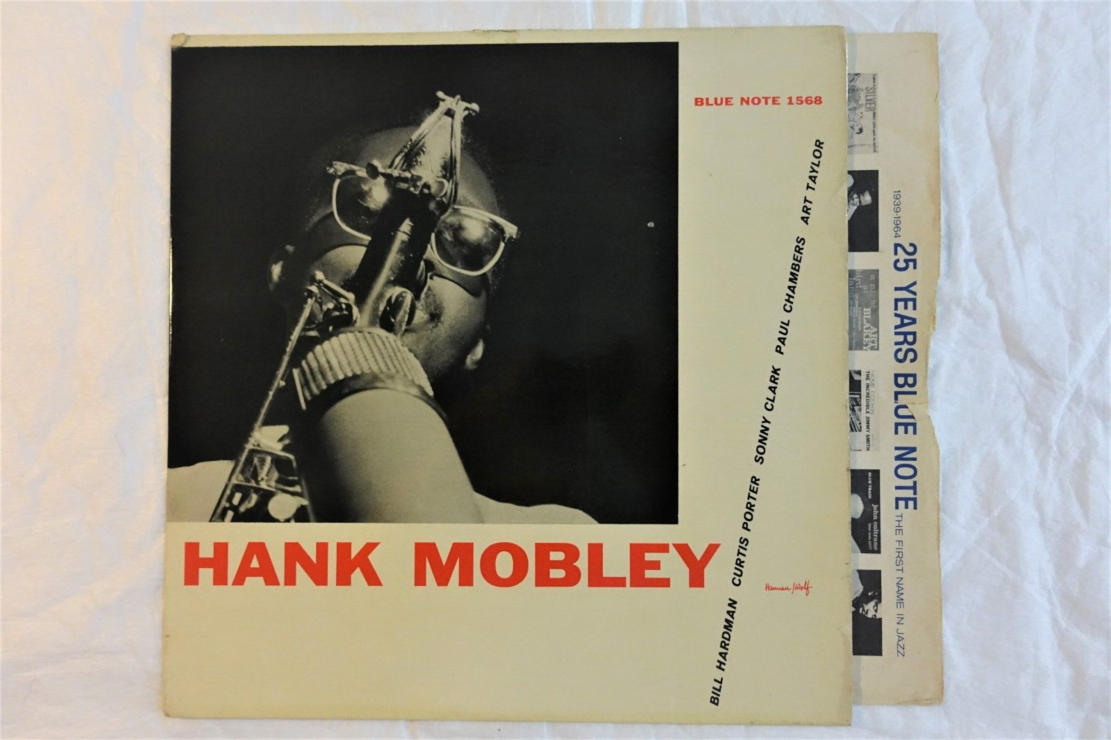 HANK MOBLEY'S SELF TITLE ' HANK MOBLEY' BLUENOTE BLP 1568. ED1.FACTORY SAMPLE