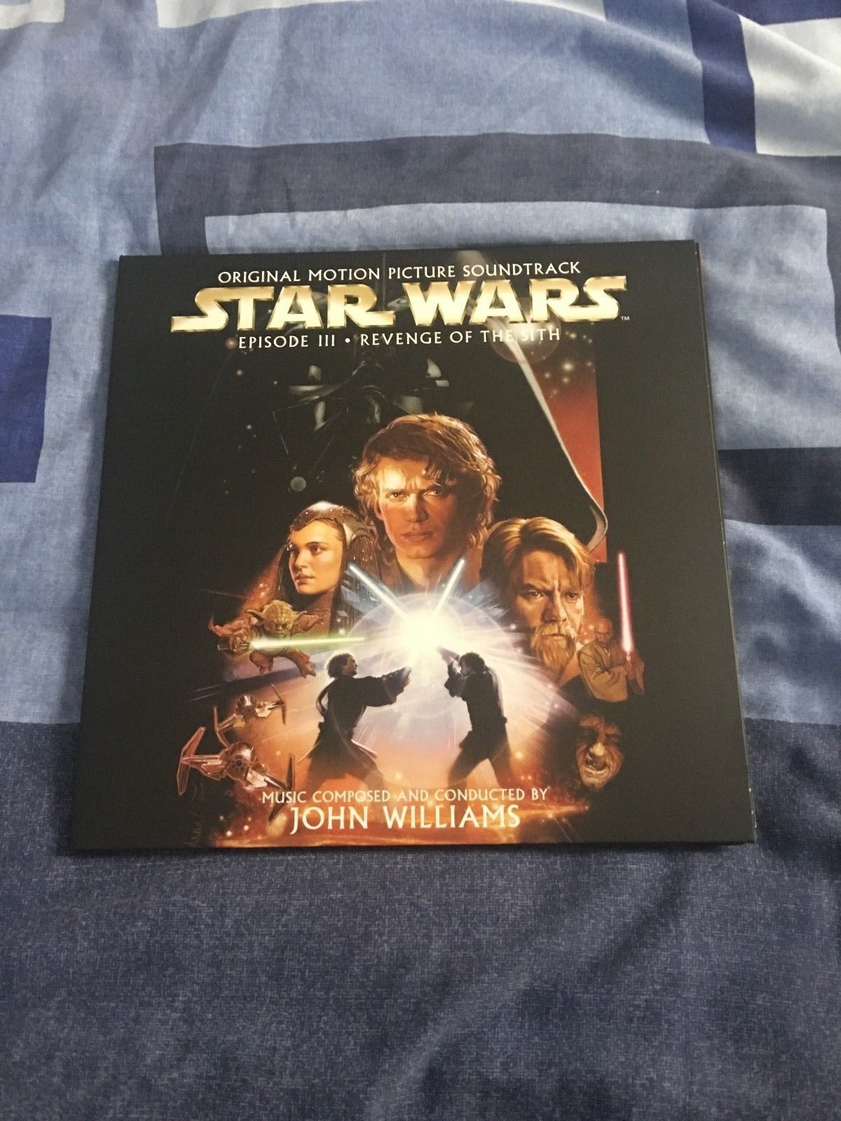 Popsike Com Star Wars Episode Iii Revenge Of The Sith 12 Inch Double Vinyl Album Auction Details