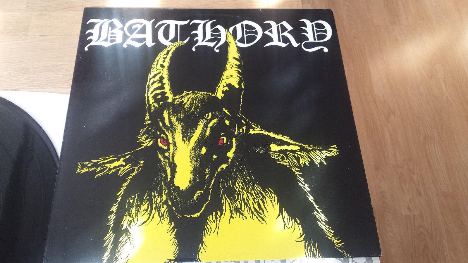 "BATHORY ""Yellow goat"" 1stpress`84, holy grail in Black Metal"