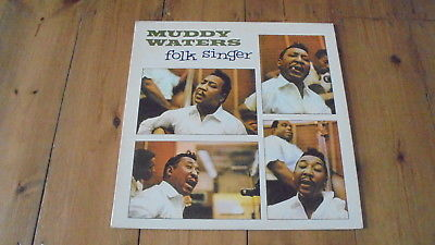 Muddy Waters - Folk Singer 1964 UK LP PYE INTERNATIONAL 1st EX