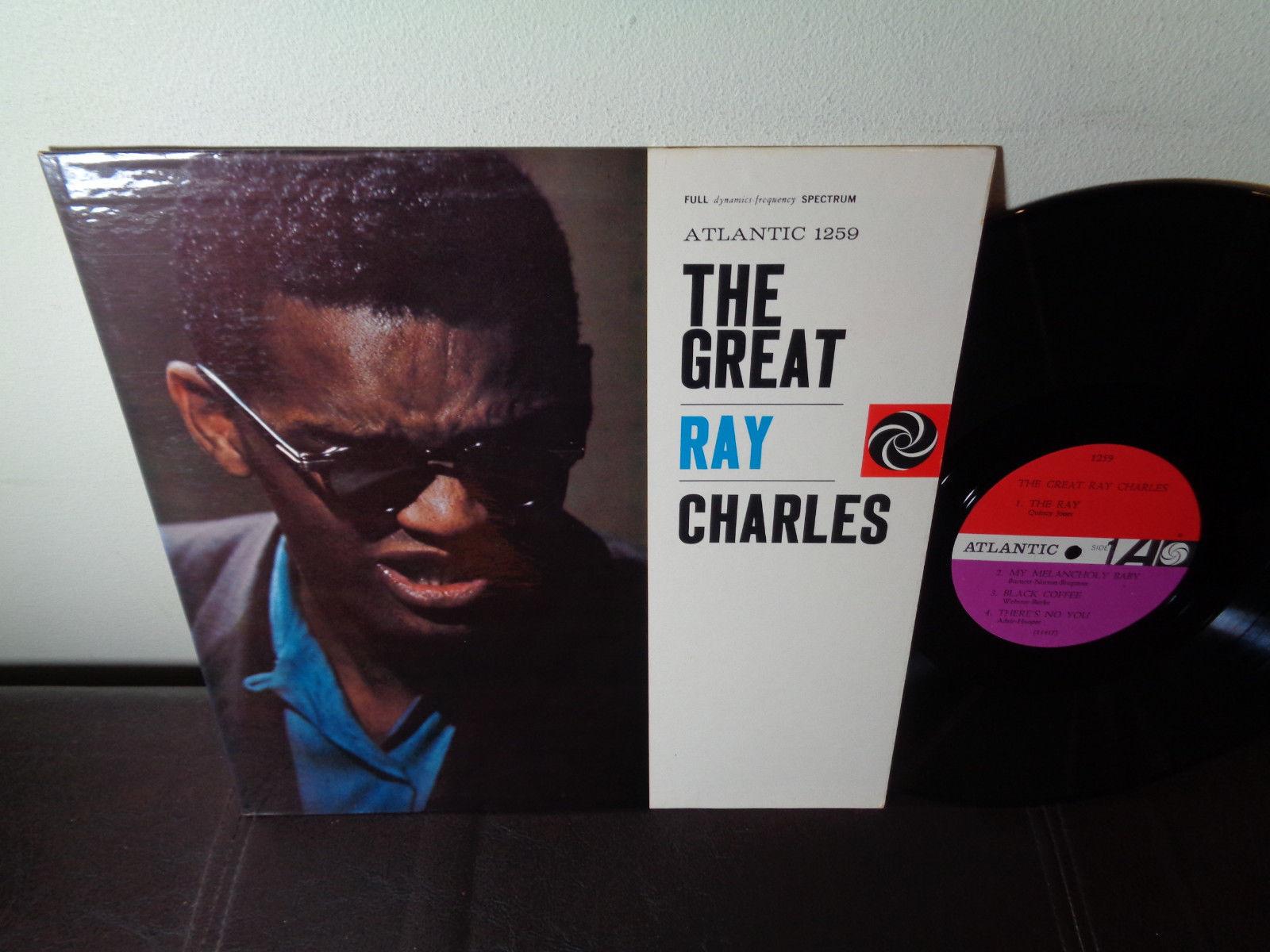 RAY CHARLES ATLANTIC 1369 MONO VG++ 1960 / R&B Soul Jazz / THE GREAT RAY CHARLES