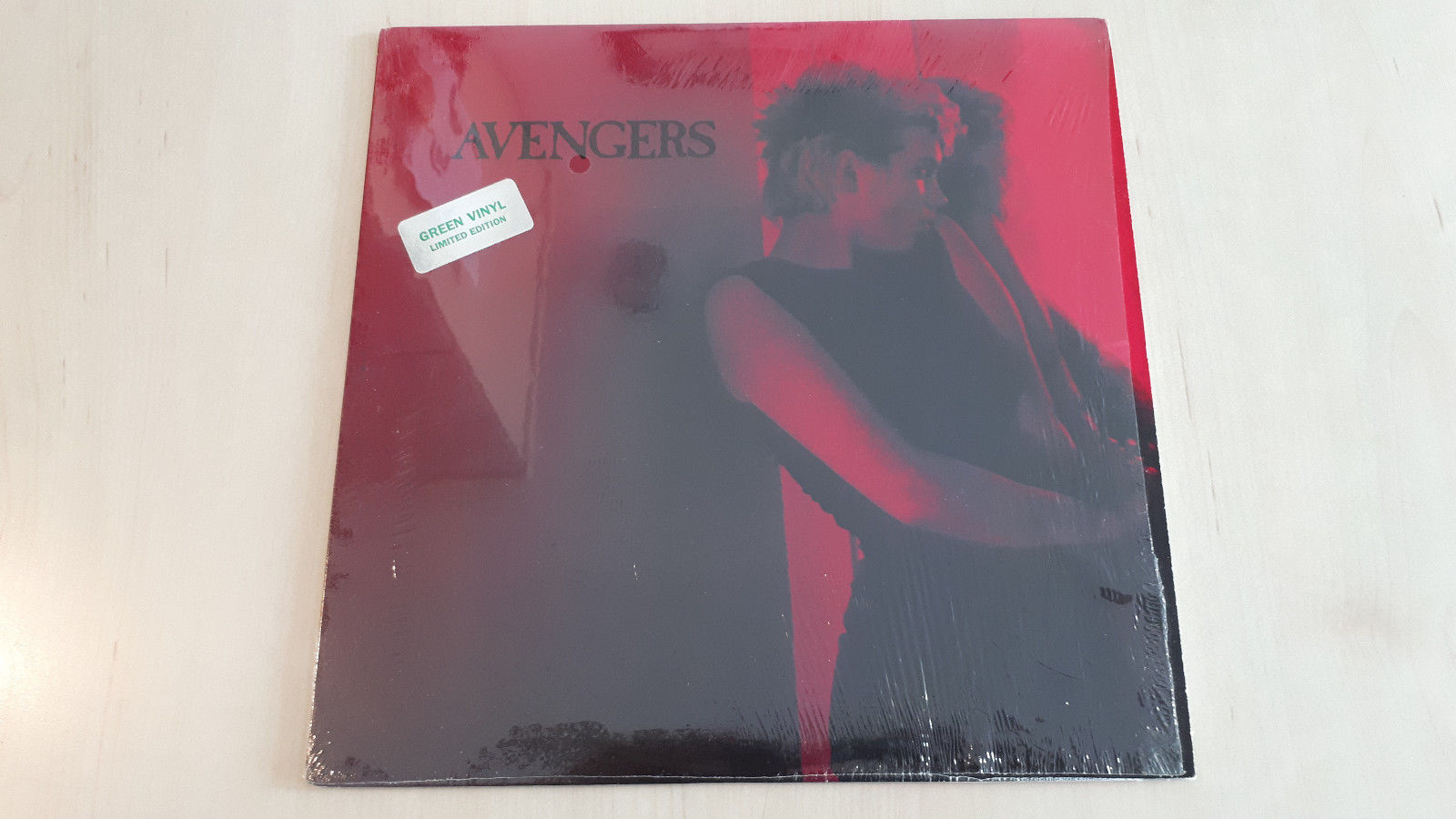 AVENGERS - SAME ( LTD, COLOURED VINYL LP ) SEHR RAR   PENELOPE HOUSTON, PUNK