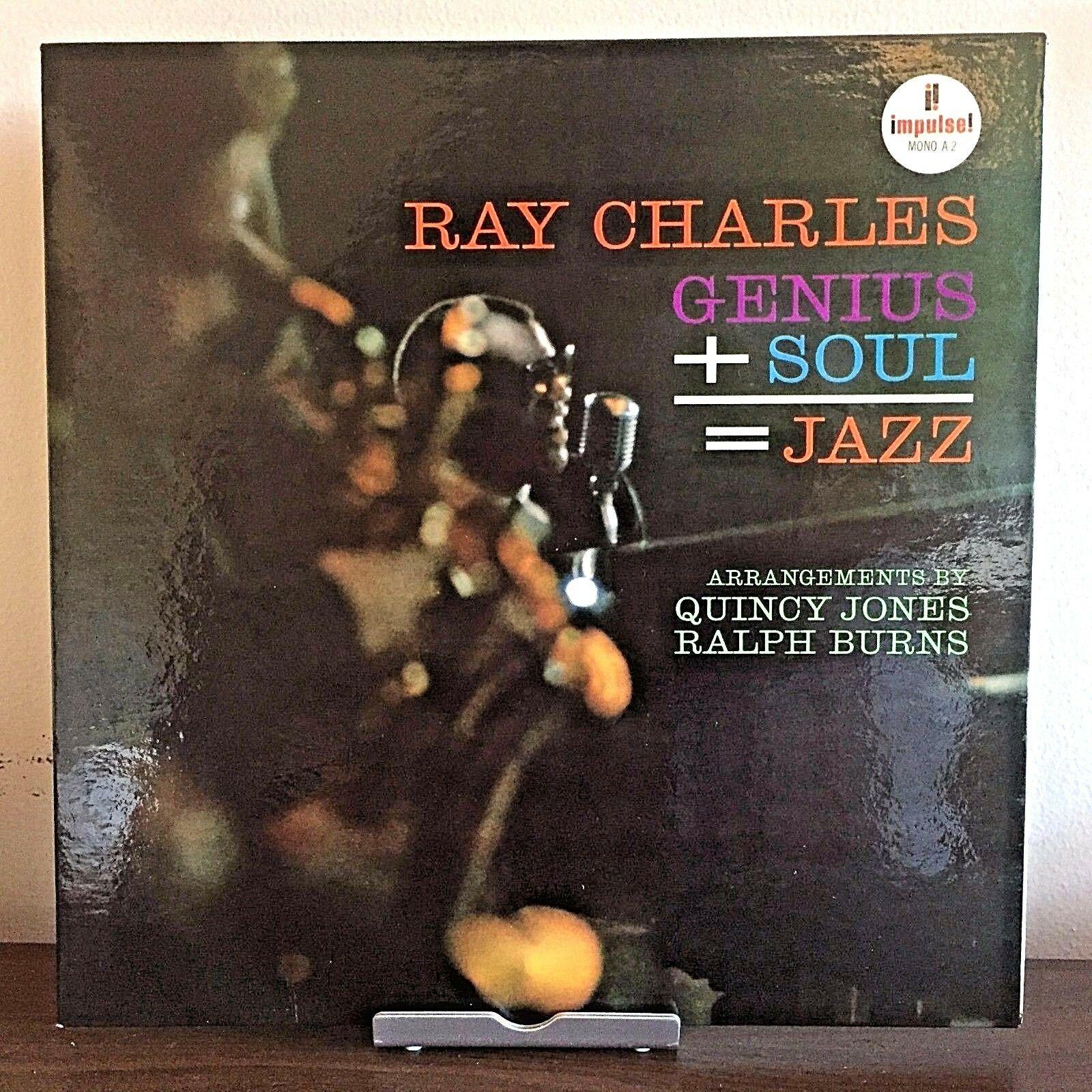 Genius+Soul=Jazz by Ray Charles 1961 Vinyl Impulse Records 1st Press Mono