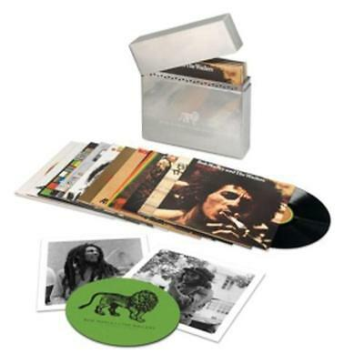 Bob Marley &The Wailers LIMITED METAL BOX Complete Island Recordings Vinyl ZIPPO