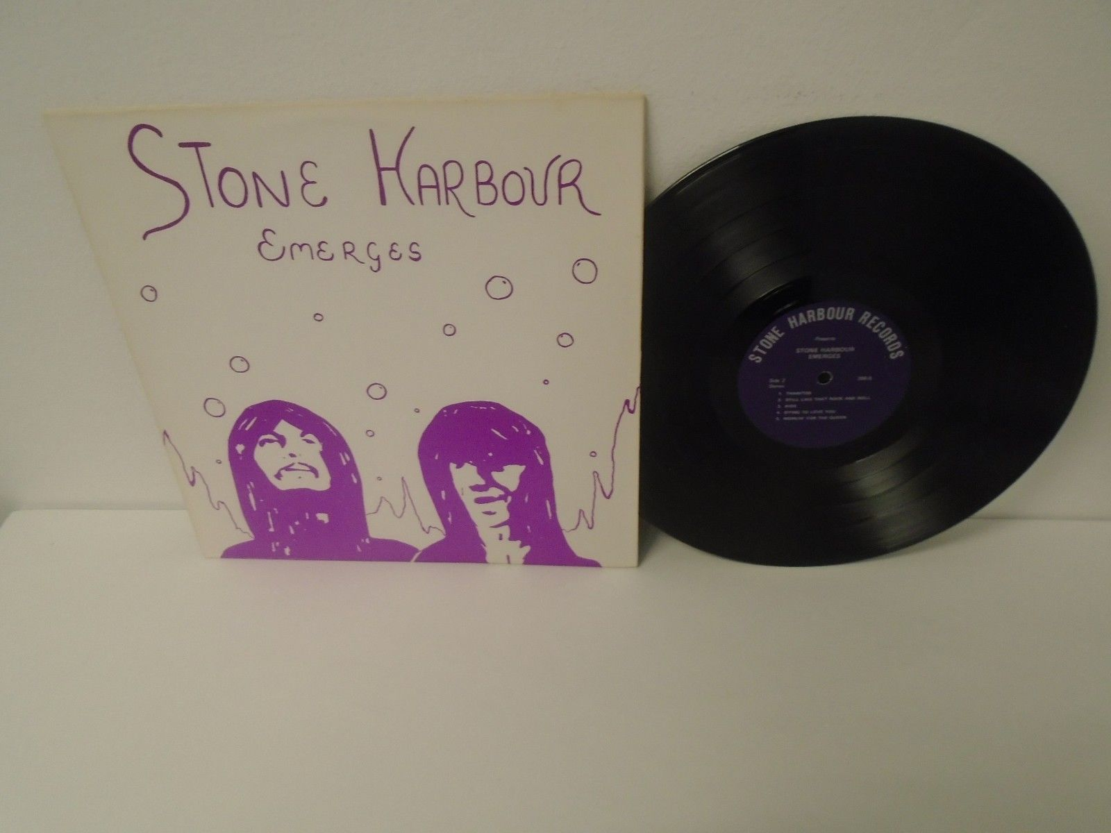Stone Harbour ?- Emerges ORIG. US LP PRIVATE PSYCH ULTRA SCARCE Pokora