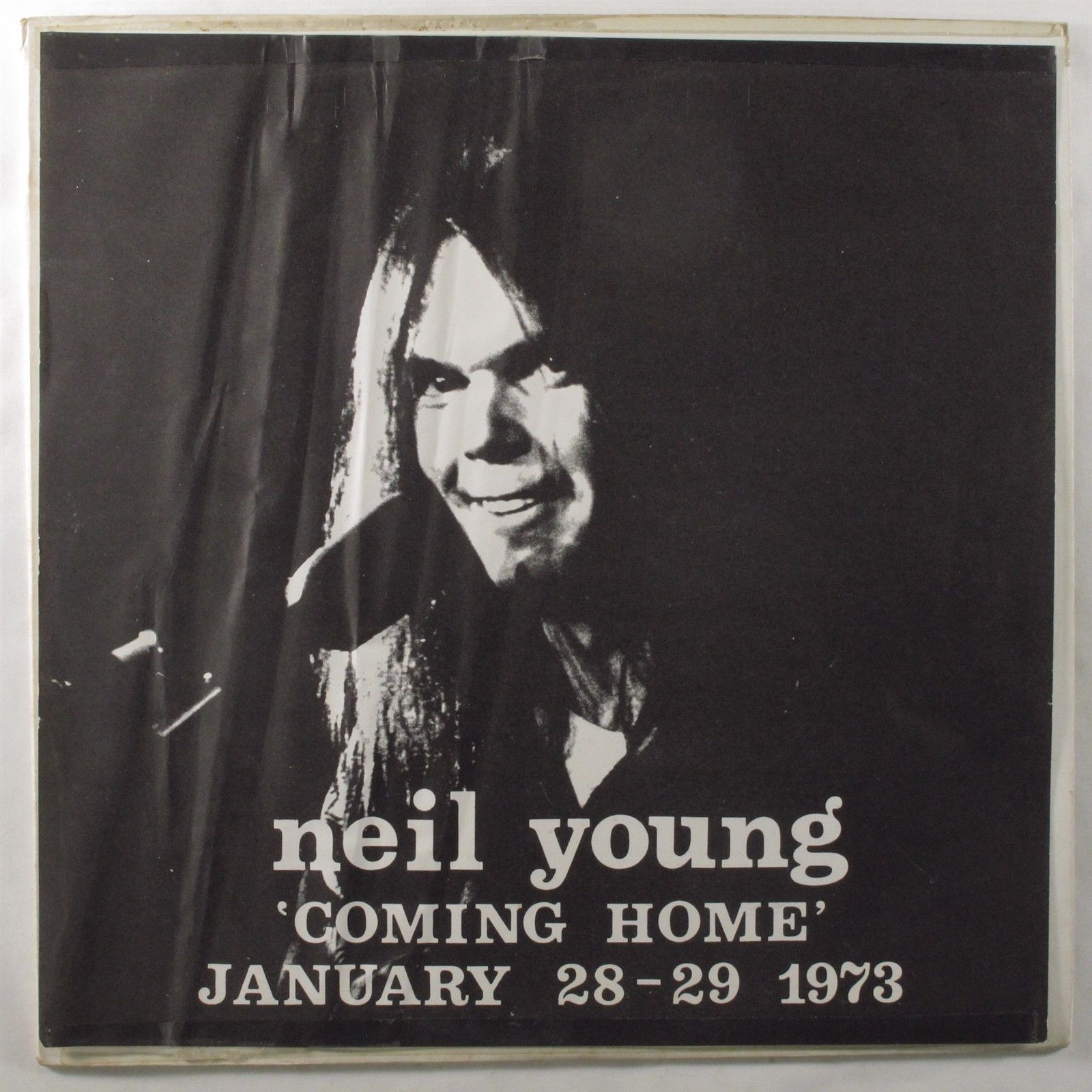 NEIL YOUNG Coming Home January 28-19 1973 LP VG+/VG++ unofficial release